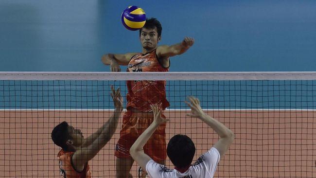 Indonesia Jumpa Filipina di Final Voli SEA Games 2019