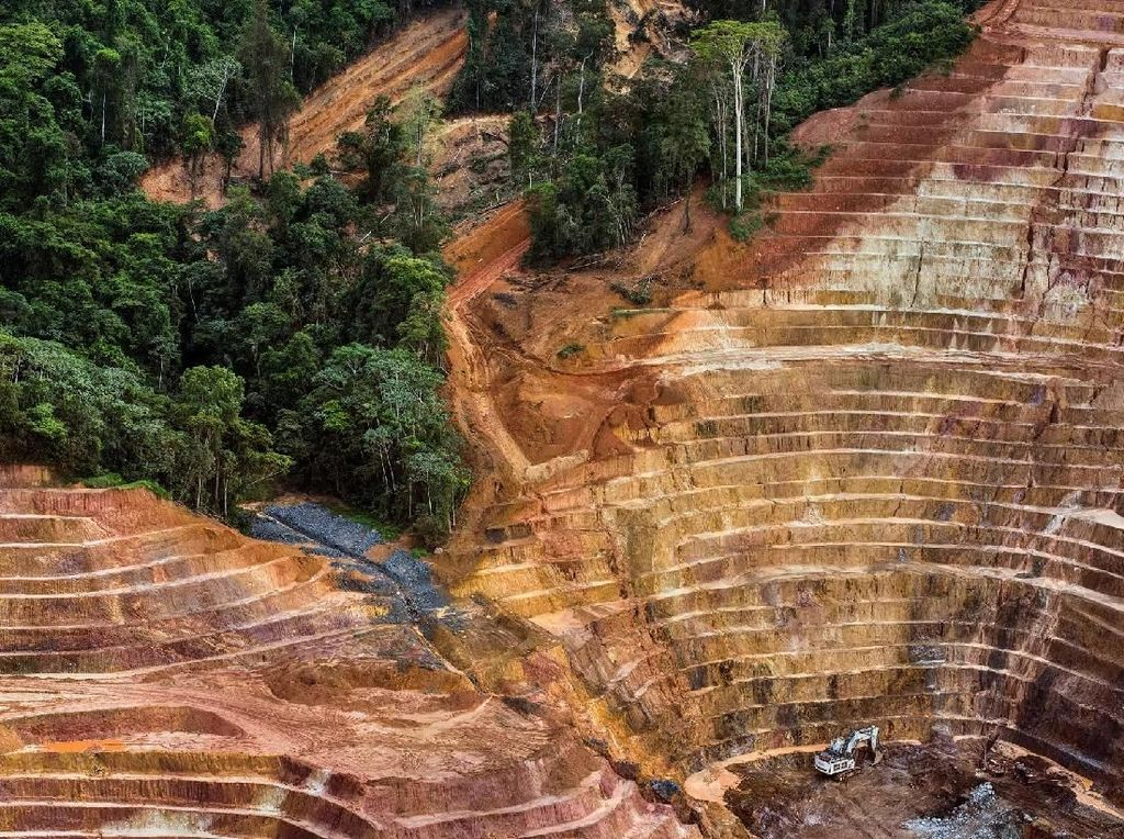 Deforestasi di Amazon, Brazil - karya Daniel Beltra. Foto: World Press Photo/The Washington Post