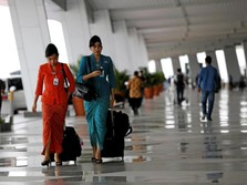 Saat Tiket Pesawat Naik, Penumpang Garuda Anjlok 20%