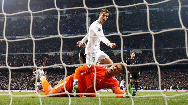 101 Gol Liga Champions, Bukti Cinta Ronaldo untuk Real Madrid