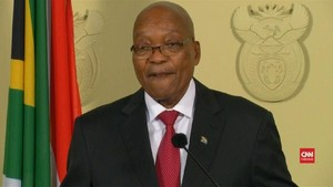 VIDEO: Detik-detik Presiden Afrika Selatan Mundur