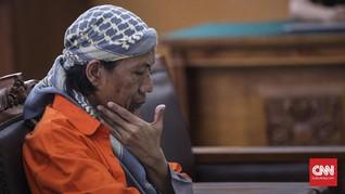 Terdakwa Bom Thamrin Aman Abdurrahman Tolak Baca Eksepsi