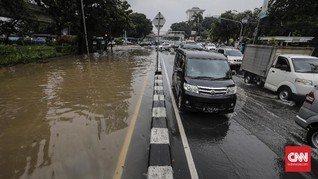 Netizen Keluhkan Penanganan Banjir Era Anies