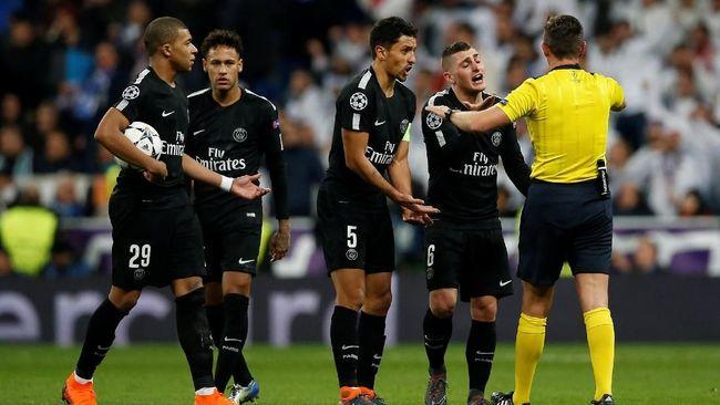 Emery: Lawan Real Madrid, PSG Dirugikan Wasit