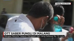 OTT Saber Pungli di Malang