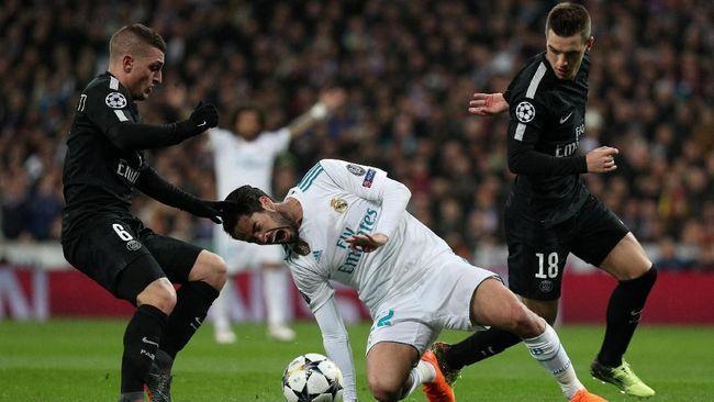 Image result for prediksi Paris Saint Germain vs Real Madrid