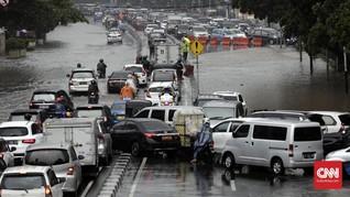 Hujan Deras, Sejumlah Wilayah di Jakarta Tergenang