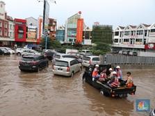 Sempat Terendam, Ini Peta Banjir Jakarta Tadi Malam