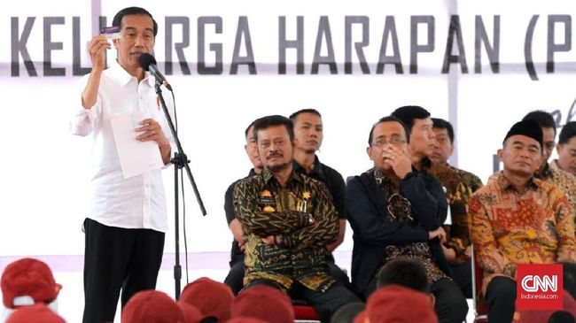 Turunkan Kemiskinan, Jokowi Tambah Dana PKH Rp20 Triliun