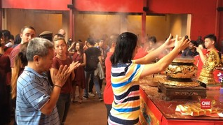 VIDEO: Keramaian Imlek di Wihara Dharma Bhakti