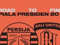 INFOGRAFIS: 'Road to Final' Piala Presiden 2018