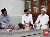 Silaturahmi Ganjar-Yasin ke Gus Mus dan Sindiran untuk DPR