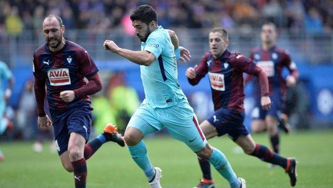 Kalahkan Eibar, Barcelona Sudahi Puasa Kemenangan