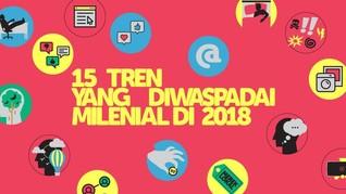 15 Tren yang Diwaspadai Milenial di 2018