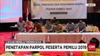 KPU Tetapkan 14 Partai Politik Menjadi Peserta Pemilu 2019