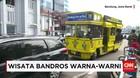 Bandros Siap Melayani Wisatawan Keliling Bandung