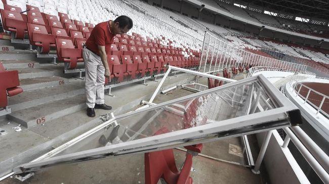 Anies: Tegur dan Laporkan Para Perusak Stadion GBK