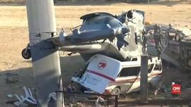 VIDEO: Kecelakaan Helikopter Tambah Duka Korban Gempa Meksiko
