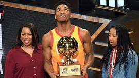 Donovan Mitchell Menangkan Kontes Slam Dunk NBA