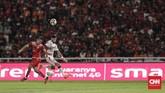 Persija Jakarta bertemu Bali United pada final Piala Presiden 2018 yang berlangsung di Stadion Utama Gelora Bung Karno (SUGBK), Sabtu (17/2). (CNNIndonesia/Adhi Wicaksono)