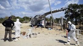 Kecelakaan Helikopter di Rusia, 18 Orang Tewas