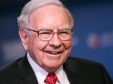 Warren Buffett Timbun Kas Rp 1.732 T, Sinyal Pasar Mau Jatuh?