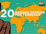 20 Negara dengan PDB Terbesar di Dunia