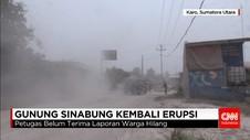 Erupsi Tertinggi Gunung Sinabung dalam Dua Tahun Terakhir