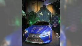 Lexus LC 500 Penyok di Film Black Panther