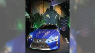 Lexus LC 500 Penyok di Film Black Pather
