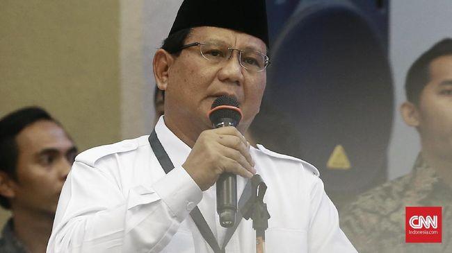 Hadapi Teror, Prabowo Ajak Warga Hidupkan Kembali Siskamling