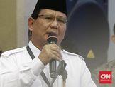 Soal Wacana Cawapres Jokowi, Prabowo Tunggu Suara Gerindra