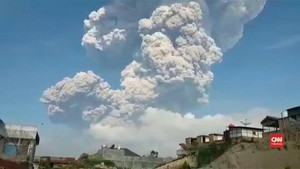 VIDEO: Letusan Gunung Sinabung