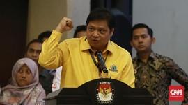 Airlangga Ogah Bahas Rapimnas Golkar 2012 Keciprat Uang e-KTP