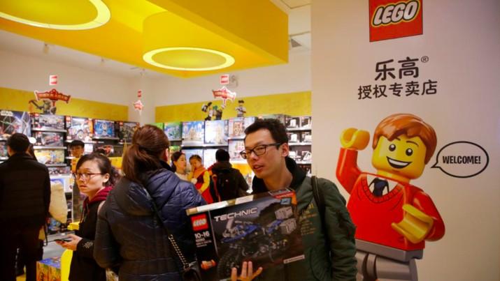 Lego gandeng otoritas pendidikan China untuk menggunakan produknya di ruang kelas
