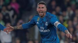 Ramos: Real Madrid Belum Menyerah di La Liga