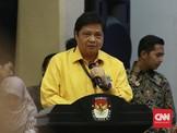 Airlangga Diminta Inisiatif Bangun Koalisi Pendukung Jokowi