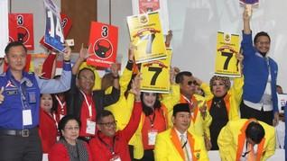 LSI Denny JA Sebut Hanya Tiga Parpol Dapat Berkah Pilpres