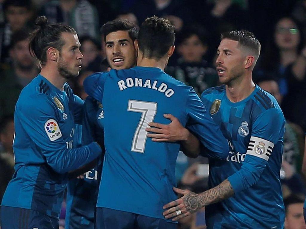 Ronaldo dan Asensio Unjuk Kemampuan di Kandang Betis