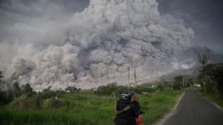 BPBD Karo Tetap Siaga Cegah Dampak Buruk Erupsi Sinabung