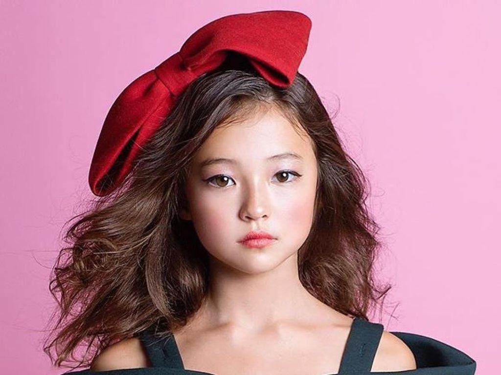 Cantiknya Kebangetan, Pesona Bocah Berdarah Korea-Amerika Jadi Model Dunia