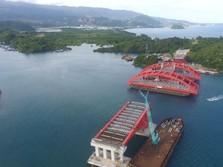Proyek Jembatan Terpanjang di Timur RI Berhenti Sementara