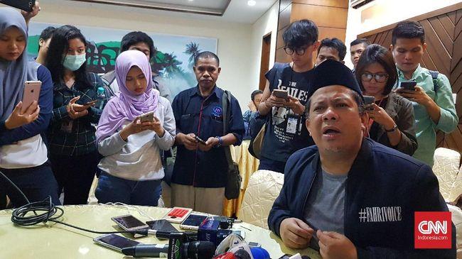 Fahri Hamzah: Jokowi Pencitraan Tak Mau Teken UU MD3