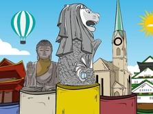 Melihat Lima Kota Termahal di Dunia