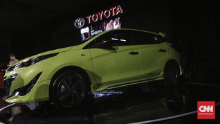 Foto: New Toyota Yaris Tambah 'Melar'
