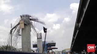 PUPR Ancam Copot Direksi Kontraktor Tol BORR yang Ambruk
