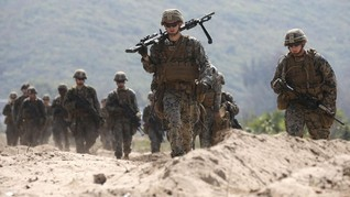 FOTO: Suasana Latihan Militer Bersama Terbesar di Asia