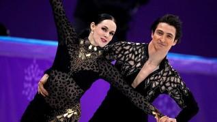 FOTO: Modisnya Para Atlet 'Ice Skating' di Olimpiade