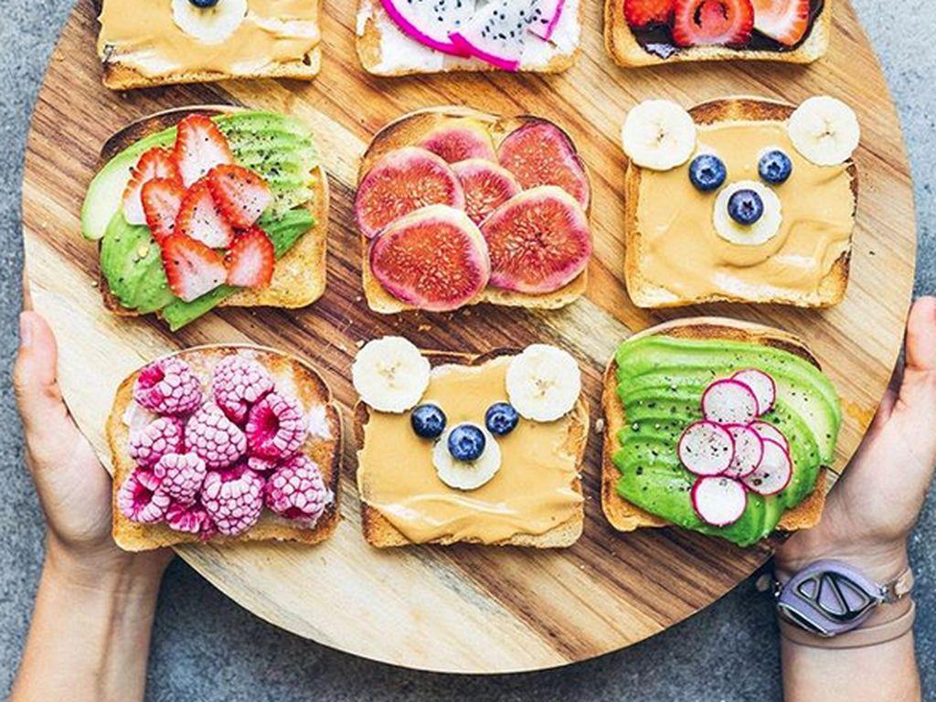 Makanan Vegan Ini Tampil dalam Warna-warni Cantik