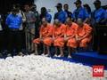 BNN 'Kuliti' Kapal Sunrise Glory untuk Cari Sisa 2 Ton Sabu